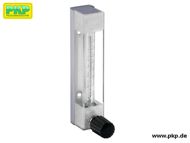 DS11 Plastic variable area flowmeter with glass measuring tube