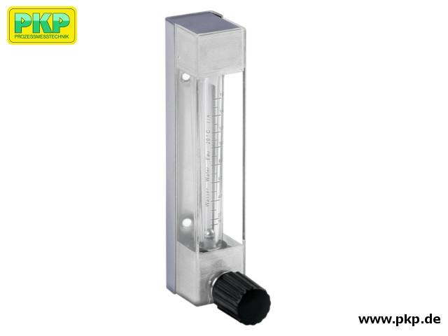 DS11 Kunststoff-Schwebekörper Durchflussmesser für geringe Durchflussmengen mit Glasmessrohr