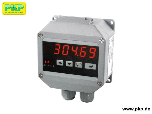 AZ40 Digital display and control unit  in IP65 field housing