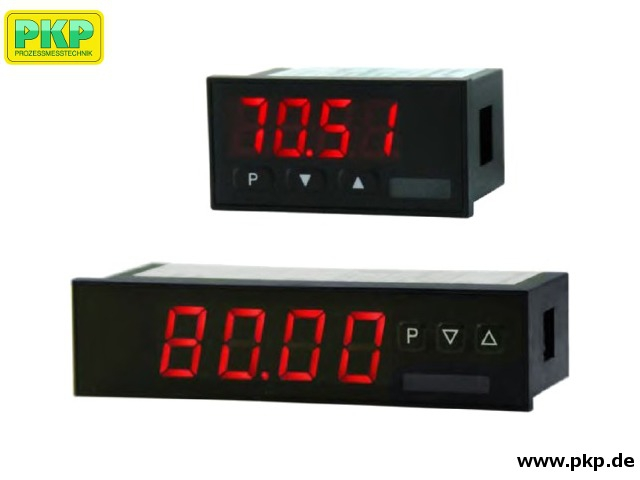 AZ30 Digital display unit for panel mounting, current loop operation, 4 digits