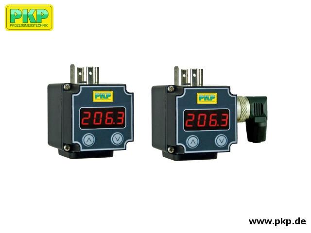 AZ01 Selbstversorgende Aufsteckanzeige für 4 - 20 mA Messumformer