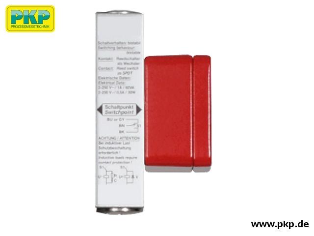 Reedkontakt mit Anschlussdose für FB06 Bypass-Füllstandsanzeige