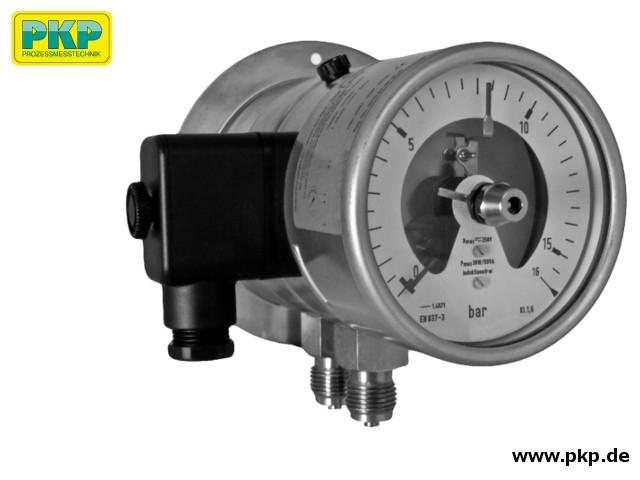 PDM02 Differenzdruck-Manometer mit Kontakt