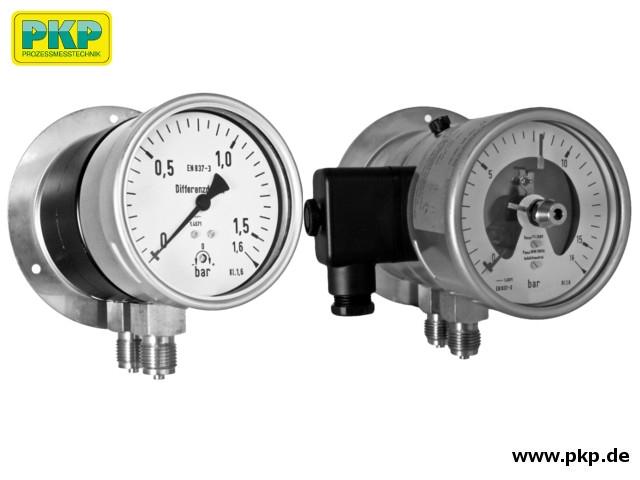 PDM02 Differenzdruck-Manometer mit Membran-Messsystem