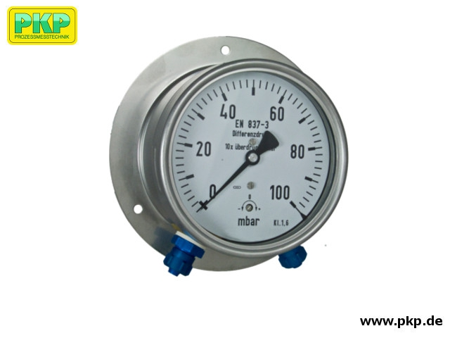 PDK01 Differential pressure gauge with capsule element