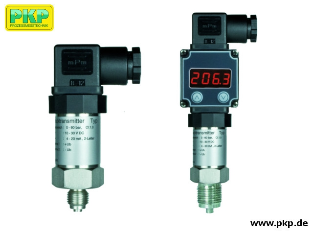 PUM04 Pressure transmitter of stainless steel with ceramic membrane
