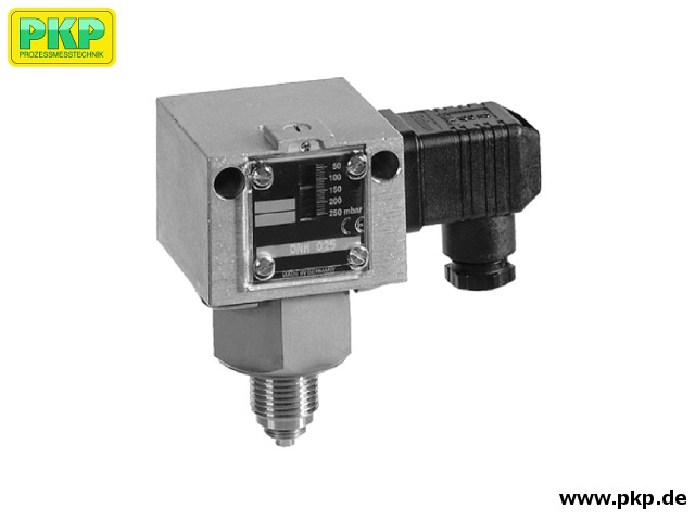 PS08 Pressure switch for aggressive media with stainless steel sensor system