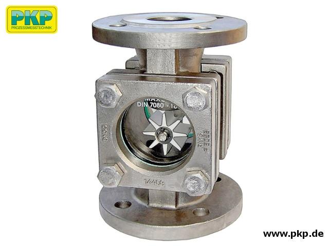 DG11.RK/RP Durchfluss-Schauglas, Flansch, Rotor