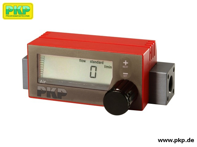 DB04 Battery operated thermal mass flowmeter for gases
