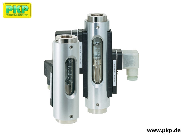 DS03 Variable area flowmeter and switch with glass measuring tube