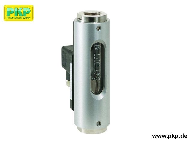 DS05 Durchflussmesser und Durchflusswächter mit Glasmessrohr, einbaulageunabhängig