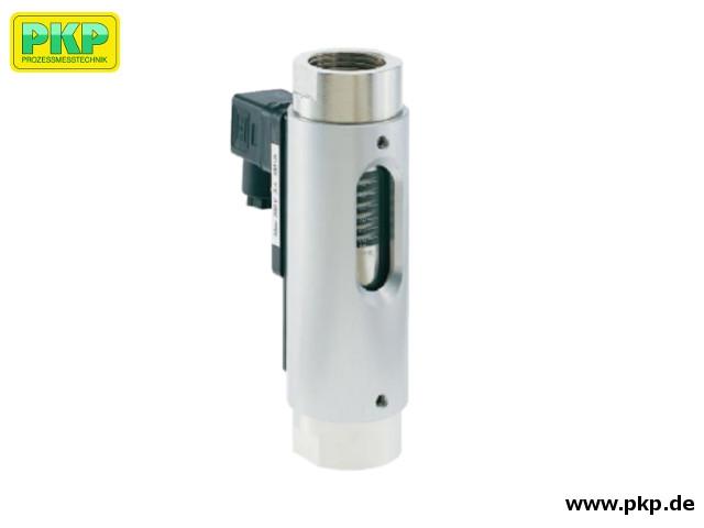 DS07 Viskositätskompensierter Schwebekörper-Durchflussmesser und Durchflusswächter, mit Glasmessrohr, einbaulageunabhängig
