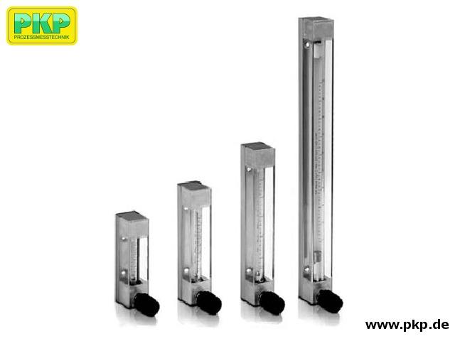 DS10 Schwebekörper-Durchflussmesser für geringe Durchflussmengen, mit Glasmessrohr