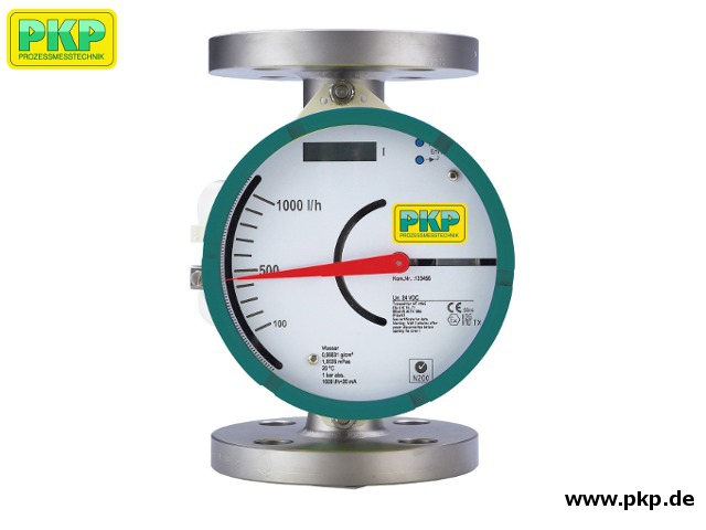 DS25 All metal variable area flowmeter, insensitive to viscosity changes