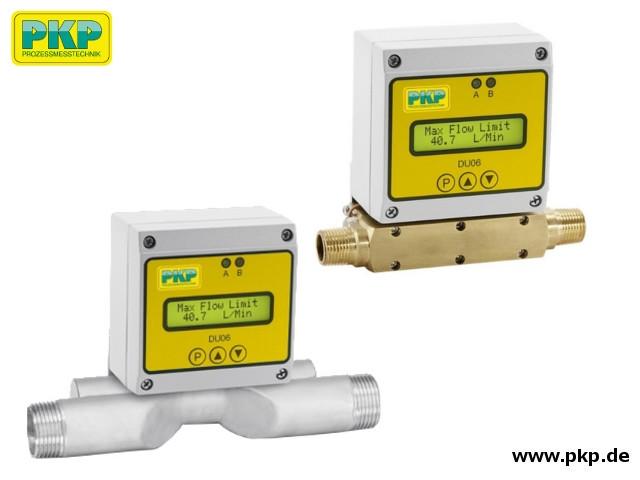 DU06 Ultraschall Durchflussmesser mit Anzeige