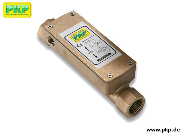 DU04 Precision ultrasonic flowmeter for liquids