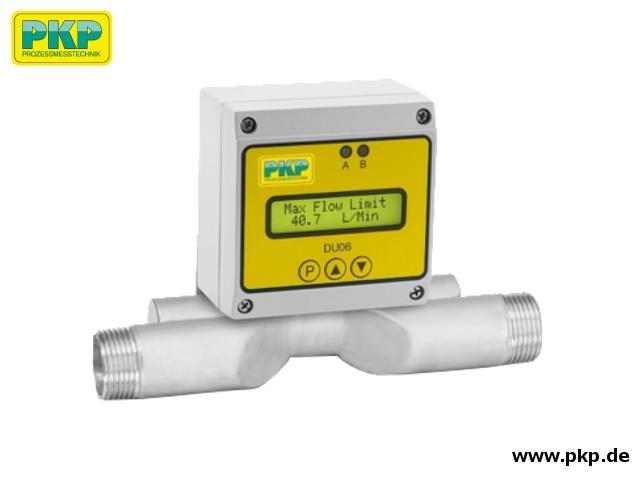 DU06 Ultraschall Durchflussmesser, Edelstahl
