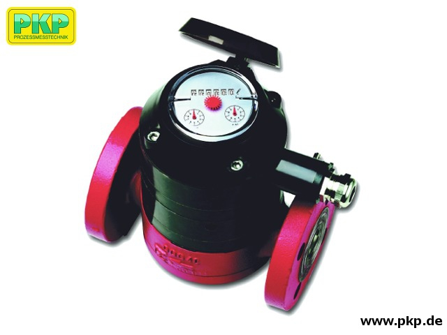 DZ01 Oscillating piston type oil flow counter