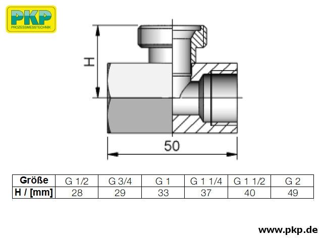 DTH04, T-Stück