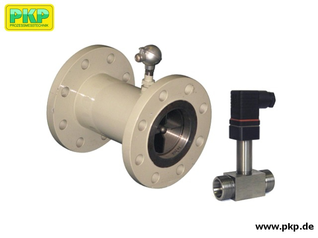 DR12 Präzisions-Turbinen-Durchflussmesser für dünnflüssige Medien