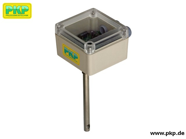 DTL08 Kalorimetrischer Kompakt-Durchflussmesser für Luft