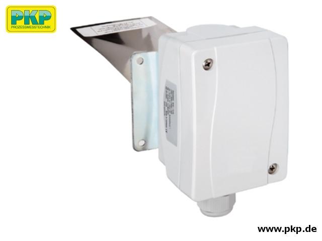 DPS10 Paddel-Durchflusswächter für Gase, Edelstahlpaddel, Anschlussplatte aus verzinktem Stahl