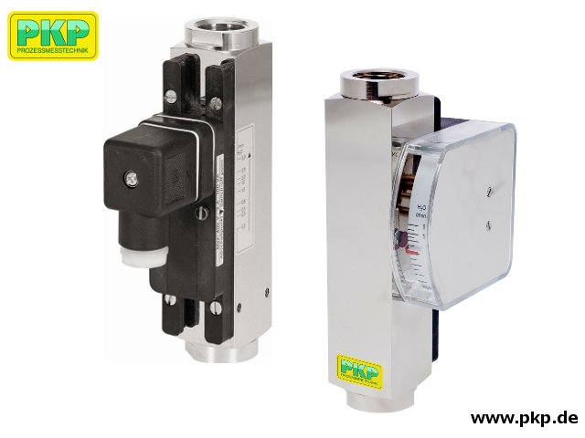 DS04 All metal variable area flowmeter and switch, high pressure version