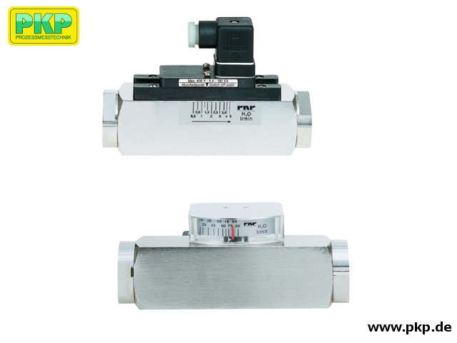 DS06 Variable area flowmeter and switch, high pressure version, mounting independent