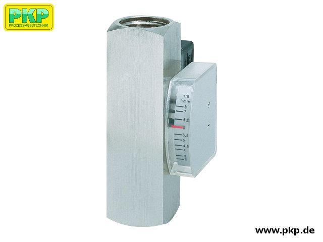 DS08 Viskositätskompensierter Schwebekörper-Durchflussmesser und Durchflusswächter, für hohe Betriebsdrücke, einbaulageunabhängig