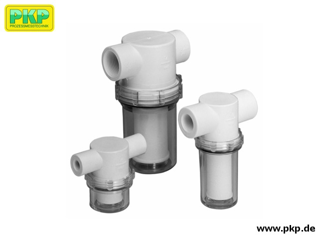 SF02 Fine filter for liquids or gases