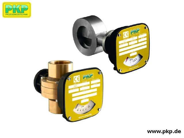 DK10 Stauklappen-Durchflussmesser