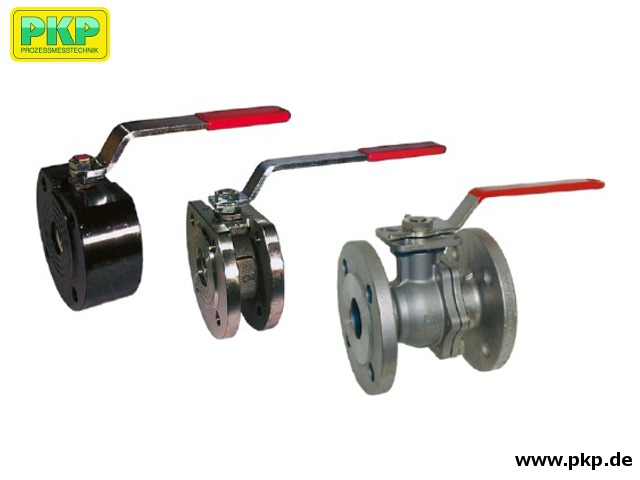 SKG02 Ball valve with flanged connection