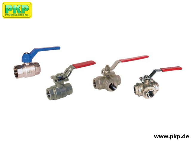 SKG01 Ball valve with threaded connection, manual operated