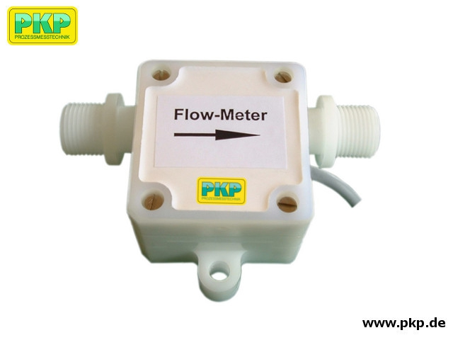 DR56 Plastic paddle wheel flow meter