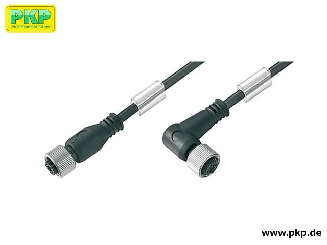 SM12 M12 Steckverbinder mit PVC Kabel