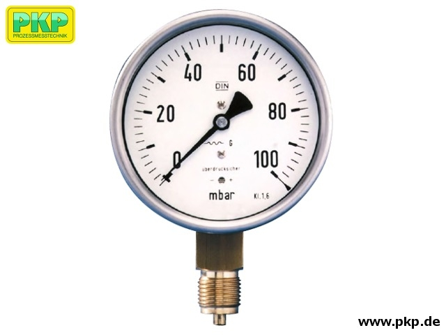 PMK04 Capsule element pressure gauge for gases