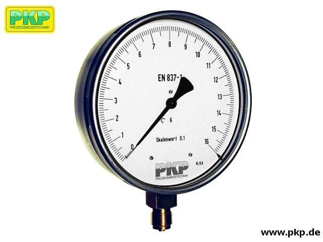 PMR06 Precision bourdon tube pressure gauge