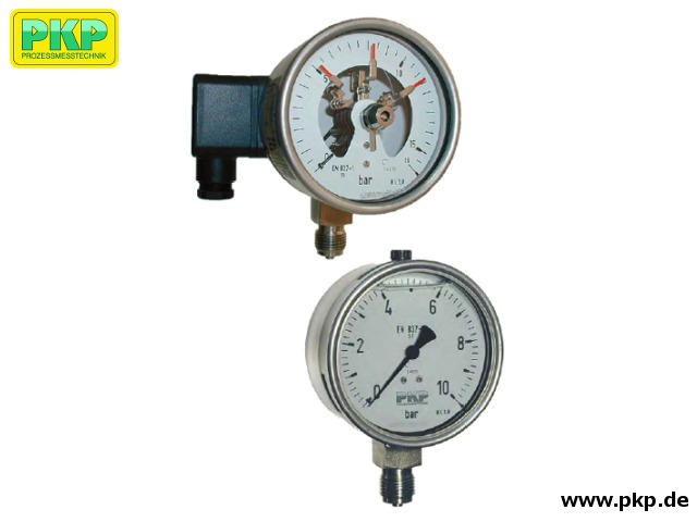PMR04 Bourdon tube pressure gauge