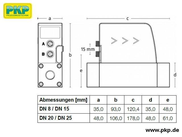 DB03 Maßzeichnung