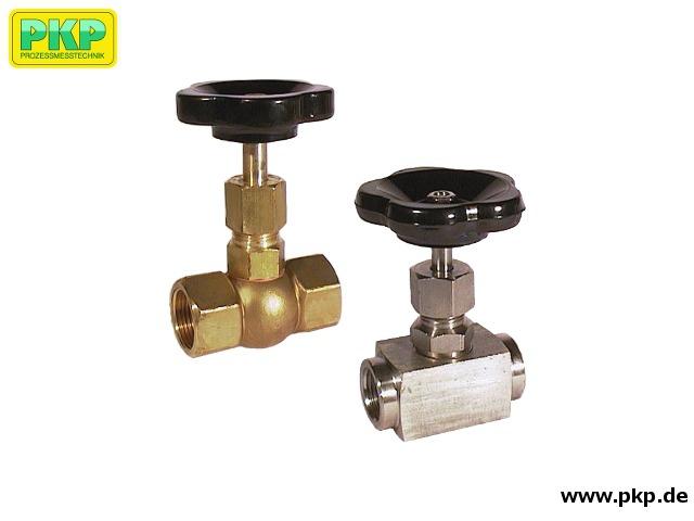 SNV01 Nadelventile aus Messing oder Stahl, kompakt