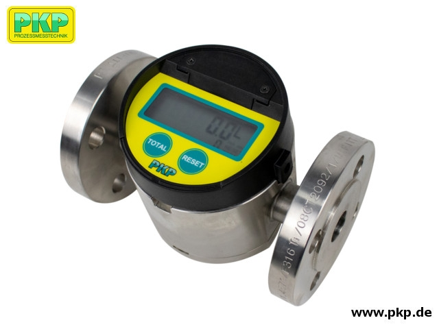 DOZ05 Oval gear flowmeter for middle flow rates