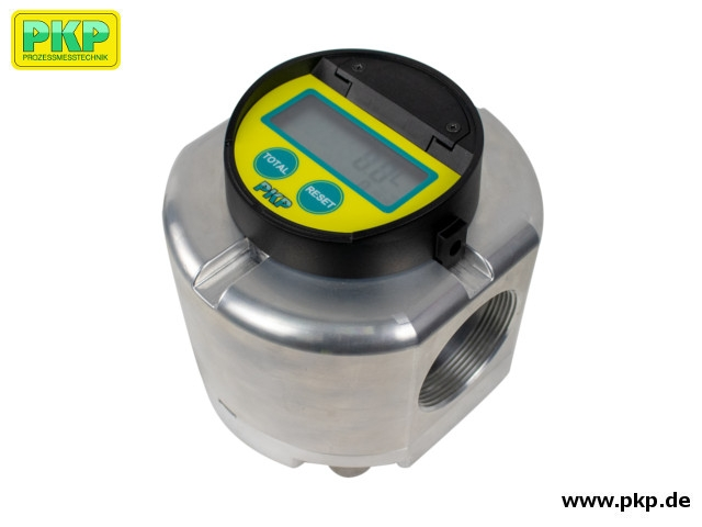 DOZ07 Oval gear flowmeter for high flow rates