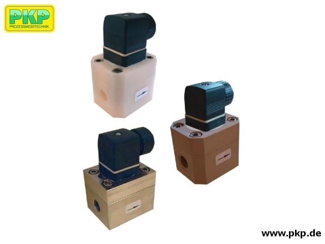 DOZ01 Ovalrad-Zähler für geringe Durchflussmengen