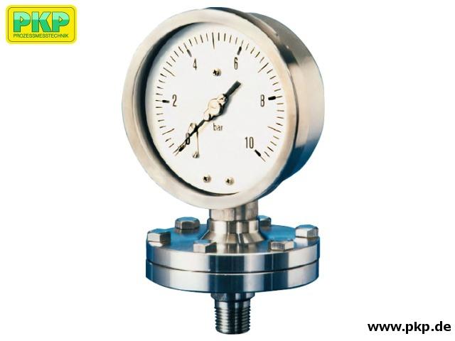 PMP04 Plattenfeder - Manometer