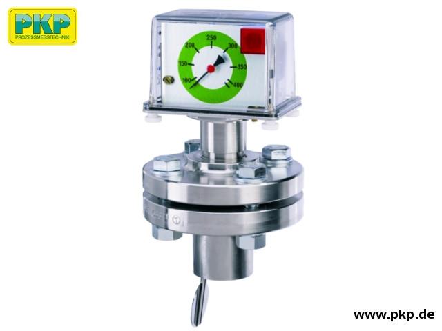 DP06 Prallscheiben- Durchflussmesser, Aufsatzflansch, Edelstahl