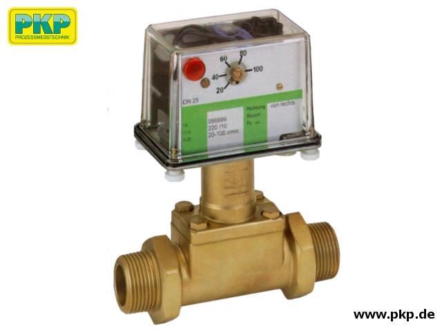 DP05 Prallscheiben-Durchflusswächter, Außengewinde, Messing