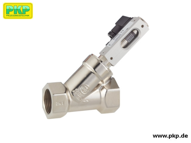 DS09 Angle seat variable area flow meter