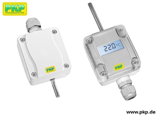 TR02 Temperaturtransmitter für Innen-/Außenbereich