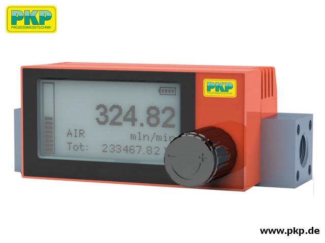 DB04A Thermischer Massedurchflussmesser, Aluminiumgehäuse, Regelventil