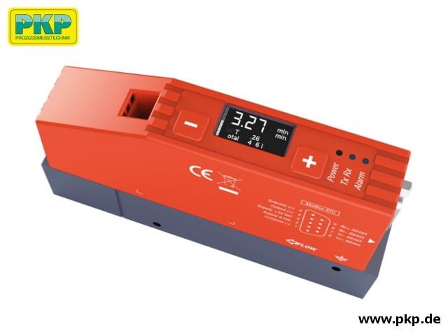 DB05 Thermischer Massedurchflussmesser, Aluminiumgehäuse, Display